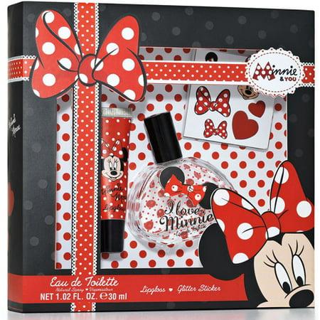 Disney Minnie Mouse Gift Set 3 Pc Walmart Com