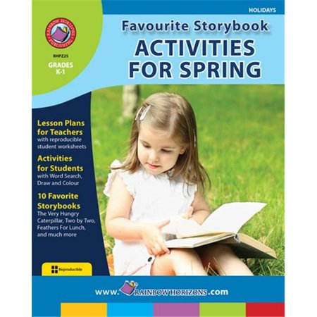Rainbow Horizons Z25 Favourite Storybook Activities for Spring - Grade K to 1