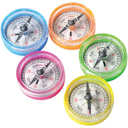 MINI COMPASSES-36 PIECES, SOLD BY 22 PACKS