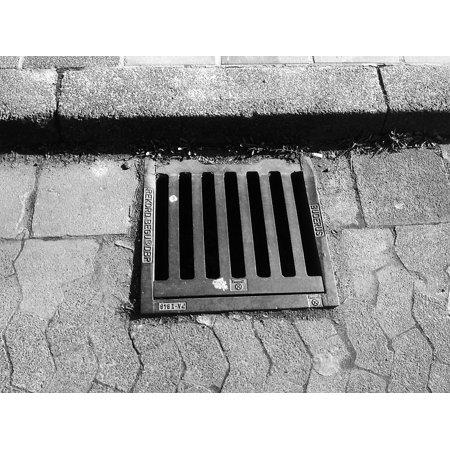 LAMINATED POSTER Drain Manhole Cover Road Gullideckel Gulli Lid Poster Print 24 x 36 Manhole Drain Covers