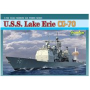 Dragon Models 1/700 U.S.S. Lake Erie CG-70 Ticonderoga Class Guided Misssle Cruiser