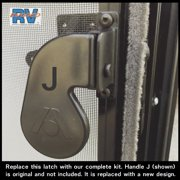 Atwood style Camper RV screen door handle kit 10-15296A Camper
