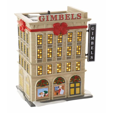 Department 56 Elf The Movie  Gimbels Department Store  Lighted Building  4053059