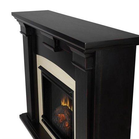 Real Flame Adelaide Indoor Electric Fireplace in Black Wash - image 1 of 5
