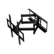 "Monoprice - Bracket - for flat panel (full-motion) - powder-coated steel - black - screen size: 37""-70"" - wall-mountable"