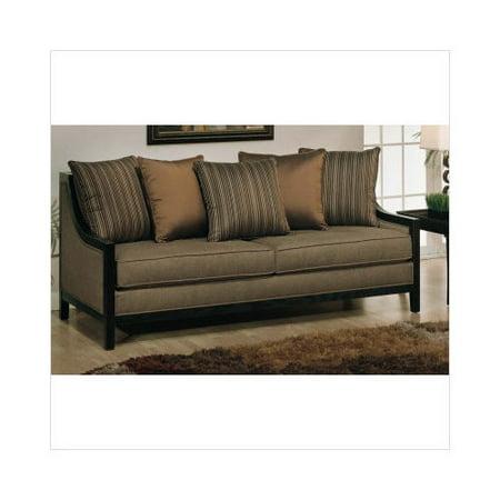 Najarian Furniture Soho Sofa In Espresso