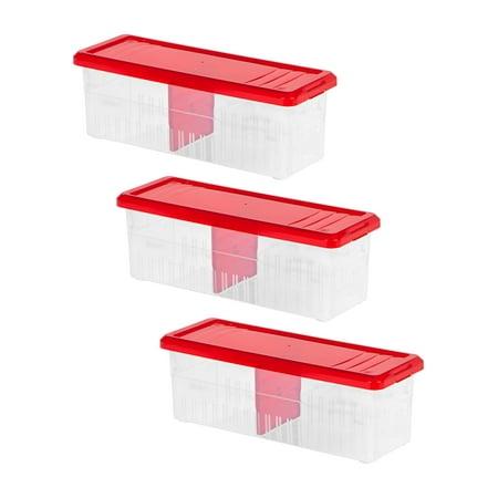 IRIS Ribbon Storage Box, 3 Pack,