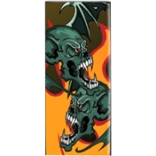 Mightyskins Protective Vinyl Skin Decal Cover for Apple iPod Nano 4G (4th Generation) wrap sticker skins - Dragon Breath