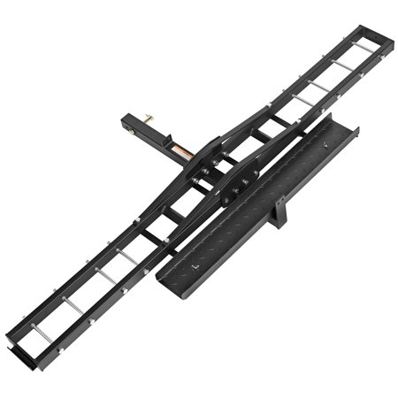 Direct Aftermarket Steel Motorcycle Scooter Dirt Bike Carrier Hauler Hitch Mount Rack Ramp Anti Tilt Anti