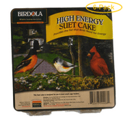 Birdola High Energy Suet Cake 11.5 oz - Pack of 6