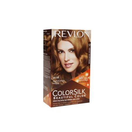 Revlon ColorSilk Beautiful Color Permanent Hair Color, 57 Lightest ...