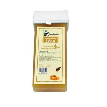 Karlash Wax Cartridge for depilation Refillable Roll On Depilatory Hot Wax Honey