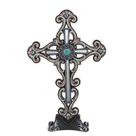 Astoria Grand Bomberger Cross Trinket Box Sculpture
