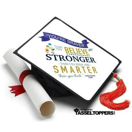 2008 Graduation Tassel - Winnie the Pooh Grad Cap Tassel Topper