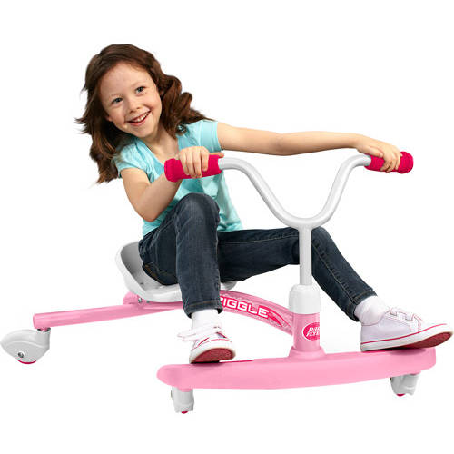 Radio Flyer, Ziggle, Caster Ride-On for Kids, Red