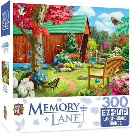 Memory Lane Bridge of Hope Large 300 Piece EZ Grip Jigsaw