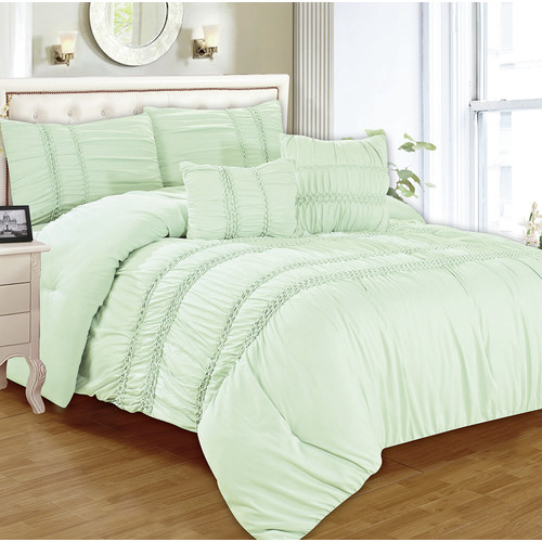 5-Piece Waldorf Smocked Comforter Set