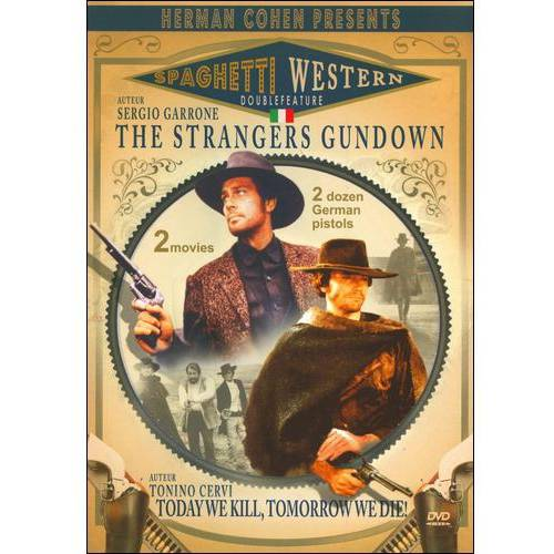 Spaghetti Western Double Feature: The Stranger's Gun Down / Today We Kill, Tomorrow We Die (Widescreen)