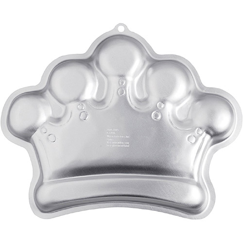 "Wilton Novelty 14.25""x10.5"" Shaped Cake Pan, Crown 2105-1015"