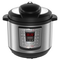 Refurbished Instant Pot LUX80 8 Qt 6-in-1 Multi-Use Programmable Pressure Cooker, Slow Cooker, Rice Cooker, Saute, Steamer, and Warmer