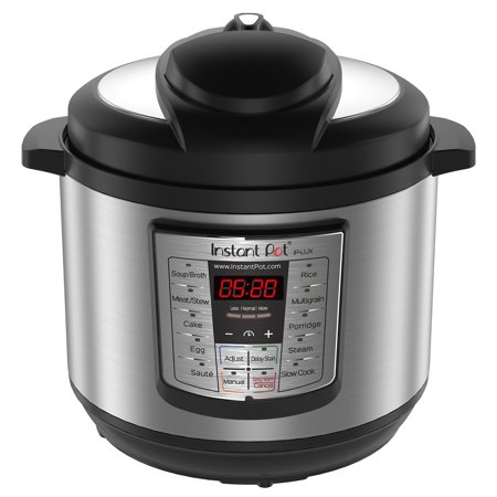 Instant Pot LUX80 8 Qt 6-in-1 Multi-Use Programmable Pressure Cooker, Slow Cooker, Rice Cooker, Saute, Steamer, and (America's Test Kitchen Best Electric Pressure Cooker)