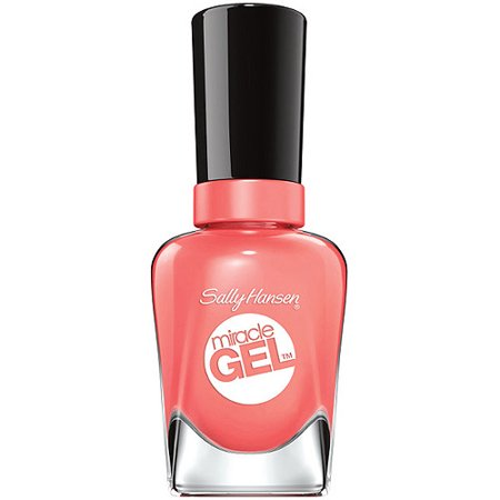 Sally Hansen Miracle Gel couleur à ongles, Malibu Peach 0,5 fl oz