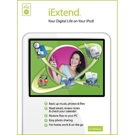 Ipod Mp4 Software - Memeo iExtend - Your Digital Life on your iPod