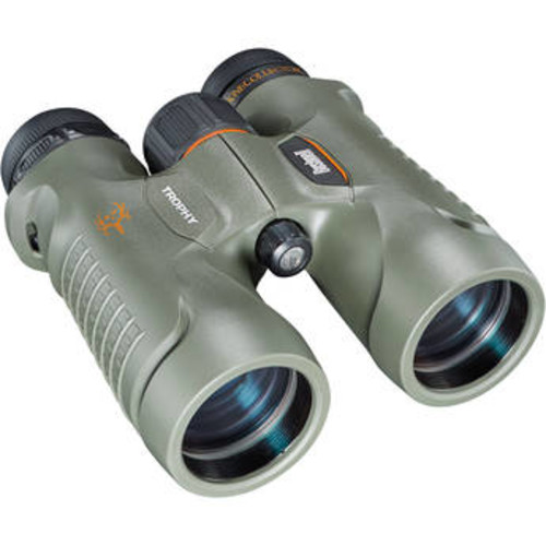 Bushnell Trophy Binoculars 10x28mm, Green Roof Prism by Bushnell