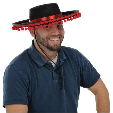 Morris costumes BG60840 Spanish Felt Hat - Spanish Gaucho Hat