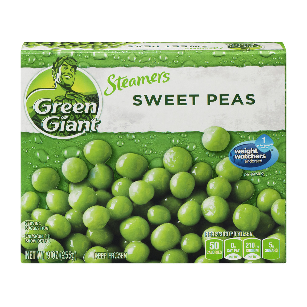 Green Giant Steamers Sweet Peas, 9.0 OZ