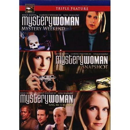 Womens Marker (Mystery Woman Triple Feature: Mystery Weekend / Snapshot / Sing Me A Murder)