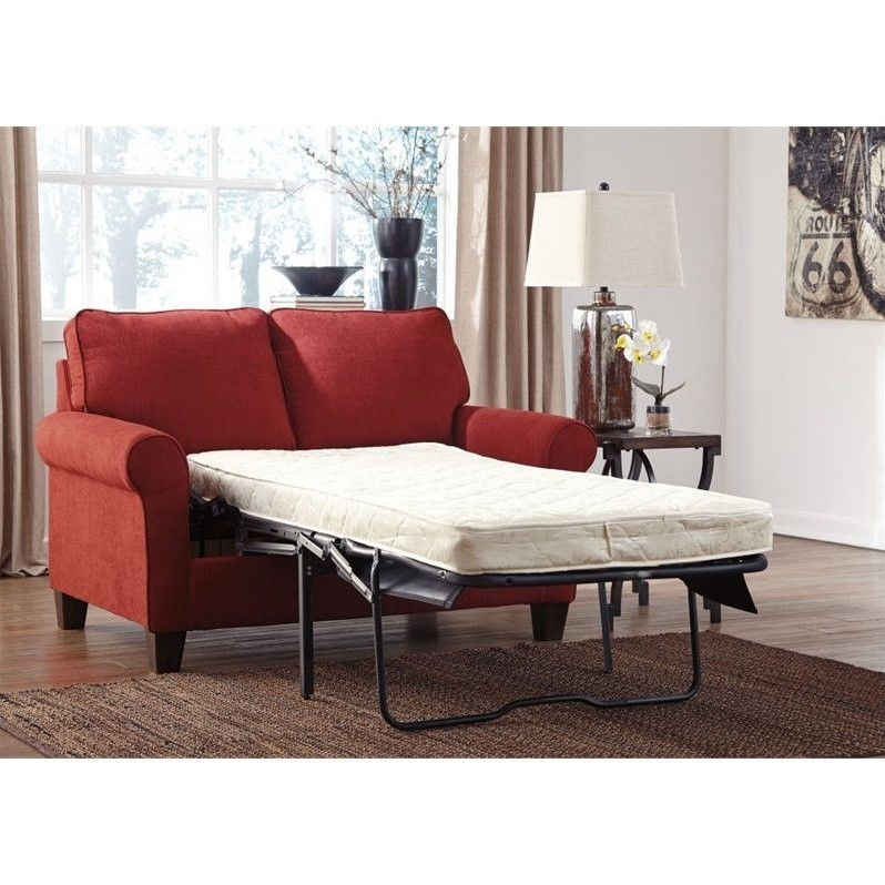 Signature Design by Ashley Furniture Zeth Twin Sofa Sleeper in Crimson  sc 1 st  Walmart & Signature Design by Ashley Furniture Zeth Twin Sofa Sleeper in ...