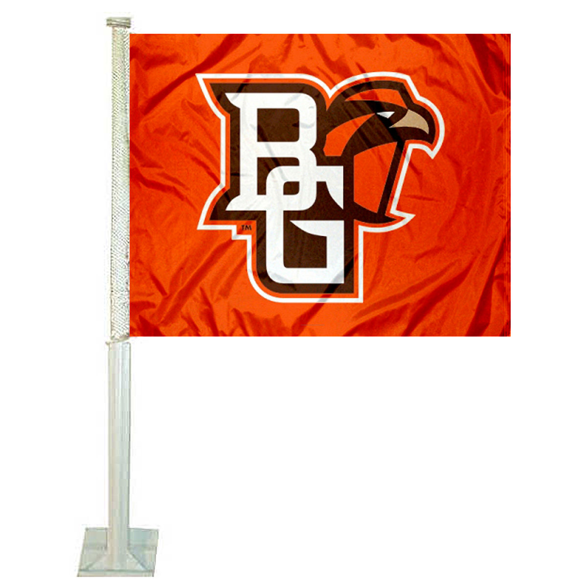 "Bowling Green State University 12"" x 15"" Car Flag"