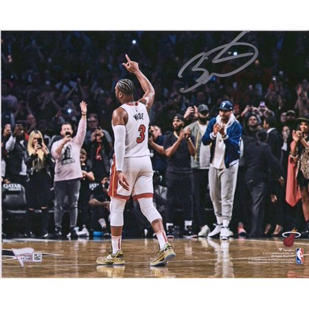 Autographed Wade Photograph - Dwyane Wade Miami Heat Autographed 8