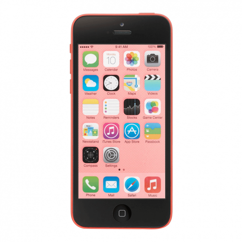 Pre-Owned Apple iPhone 5C T-Mobile Pink 16GB (ME533LL/A) (2013)