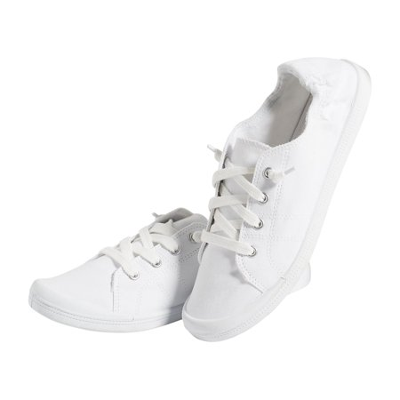 3079352c2 maurices - Maurices Mariah Lace Up Sneaker - Women's Slip On White Shoe -  Walmart.com