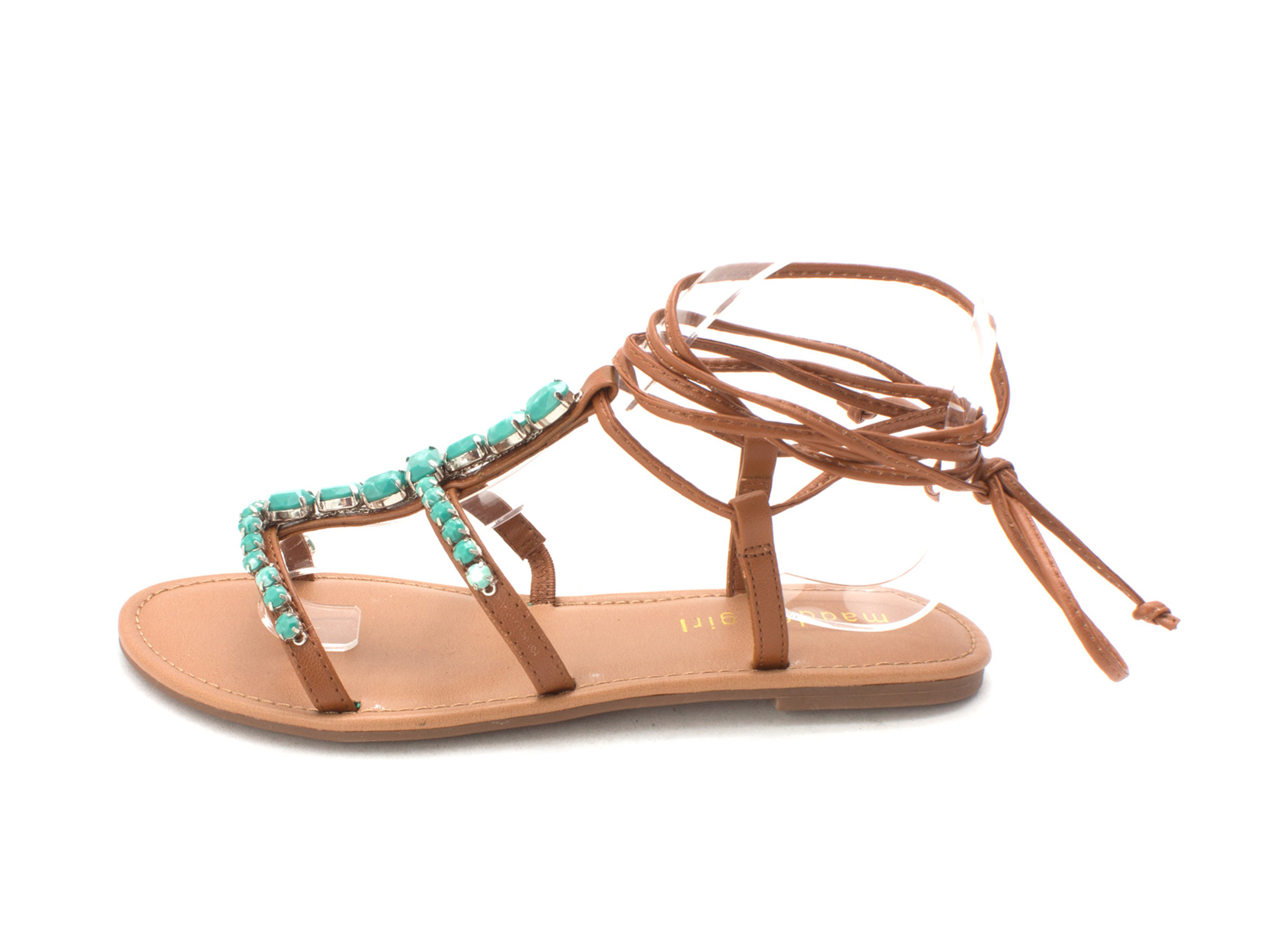 947494f53d74 Madden Girl Womens Kalipsoo Open Toe Casual T-Strap Sandals