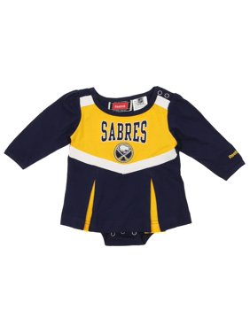 Reebok NHL Infant Girl's Buffalo Sabres Cheerleader Creeper Dress