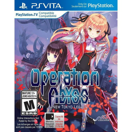 Psv 1st Edition (Operation Abyss: New Tokyo Legacy)