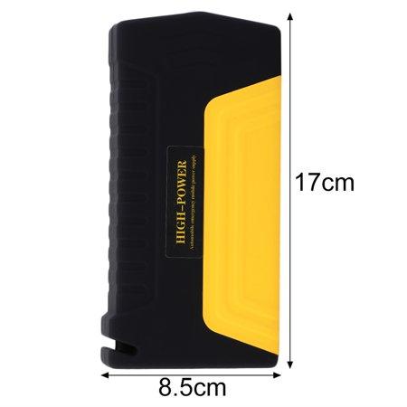 Hot Black   Yellow Portable 68800Mah 4 Usb Car Jump Starter Booster Power Bank Battery Tm15a On Sale