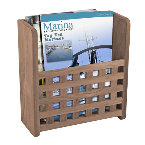 Magazine Rack Grate Front by Waterbrands