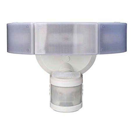 Defiant 270° 3-Head White LED Motion Outdoor Security Light