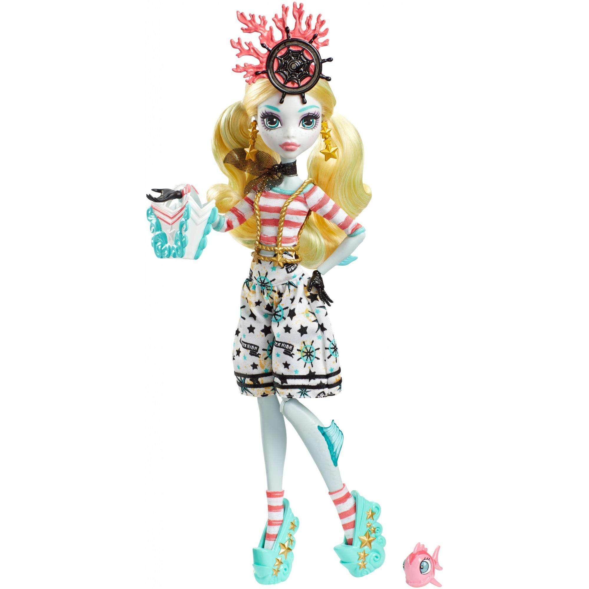 Monster High Shriekwrecked Nautical Ghouls Lagoona Blue Doll by Mattel