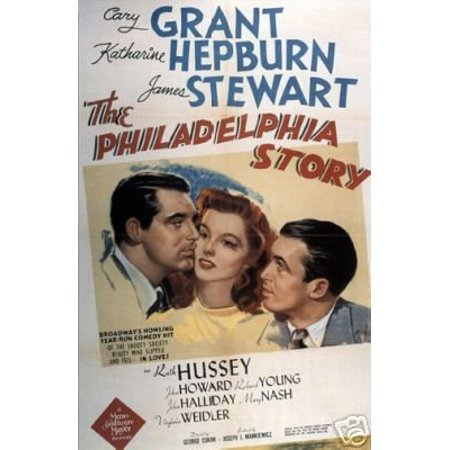 The Philadelphia Story Movie Poster Cary Grant - a - New 12x18