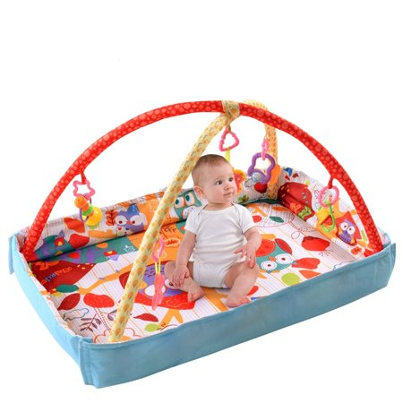 Baby Playmat Reviews (Costway 3 In 1 Multifunctional Baby Infant Activity Gym Play Mat Musical W/Hanging)