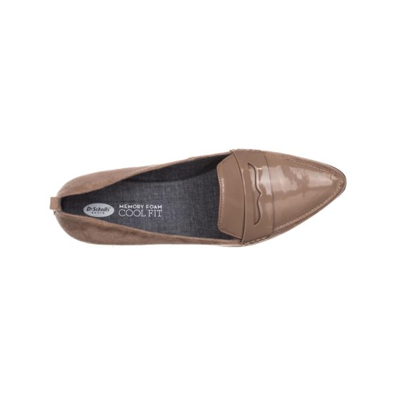 86a73bb2390 Dr. Scholl s Shoes - Womens Dr. Scholls Eclipse Flat Penny Loafers ...