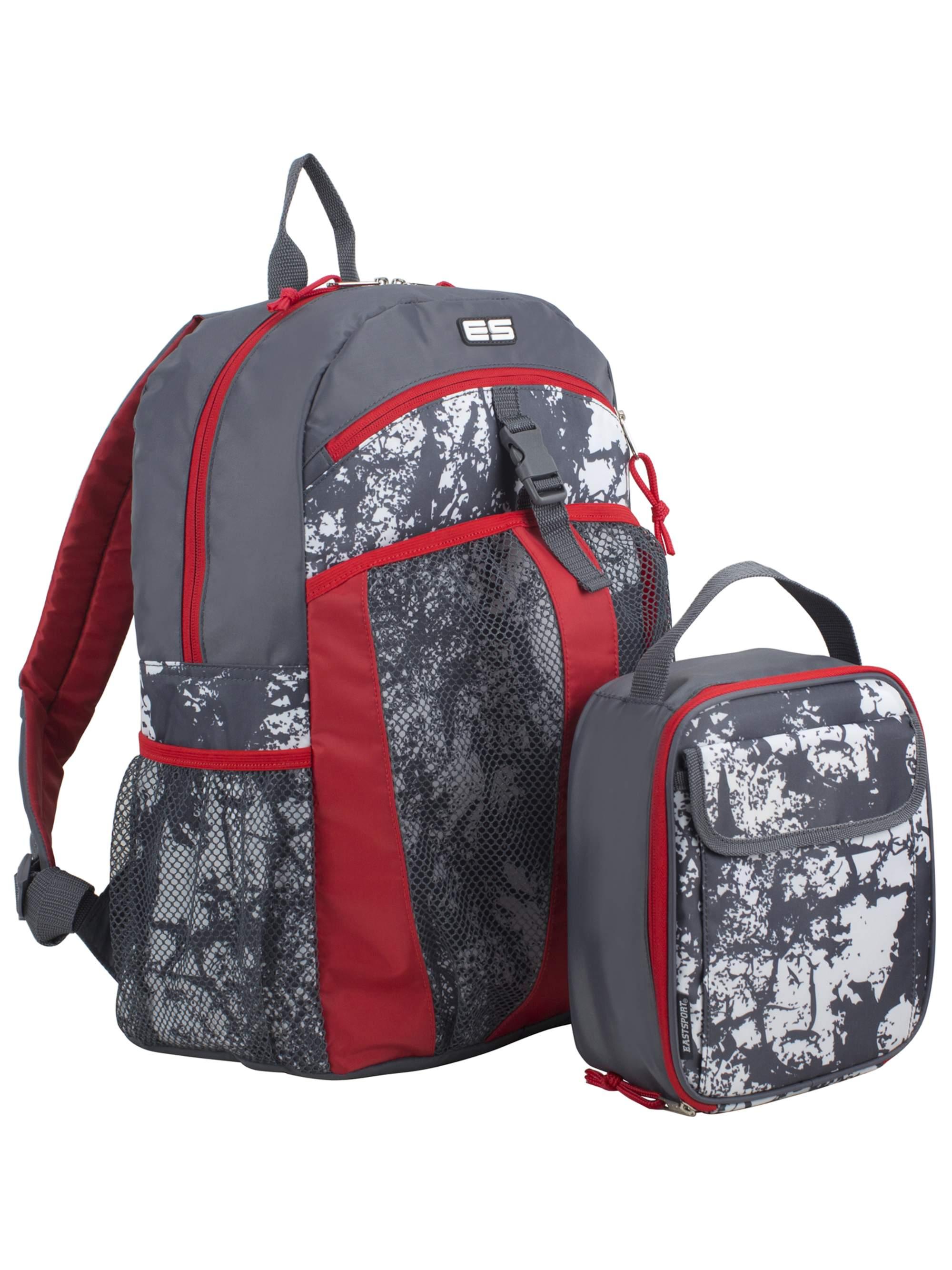 Eastsport Backpack with Bonus Matching Lunch Bag