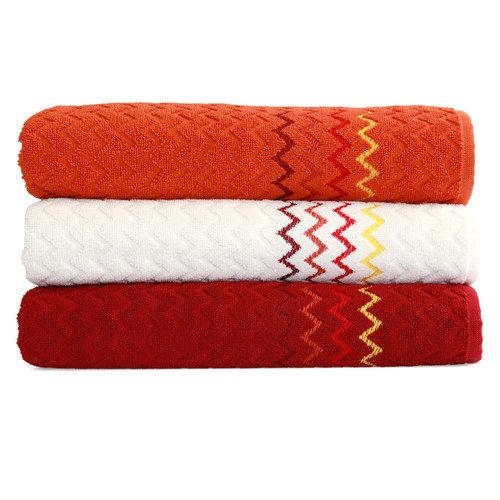 Linum Home Textiles Montauk ''Zig Zag'' Bath Towel (Set of 3)