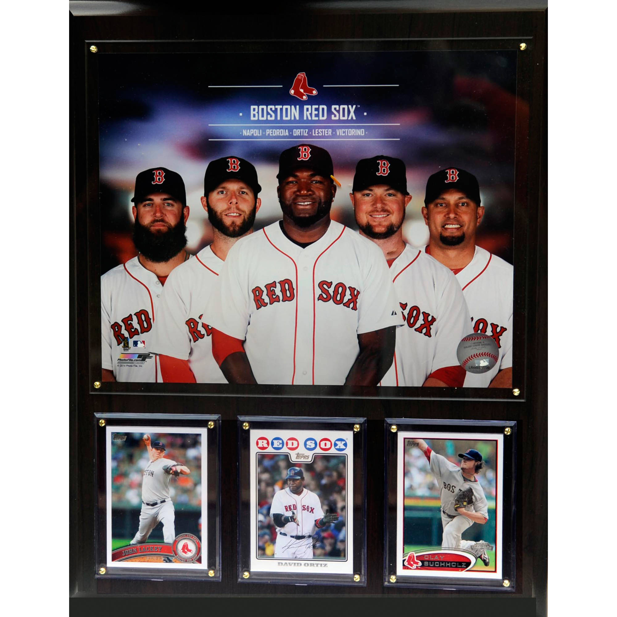 C&I Collectables MLB Boston Red Sox 2014 Team Plaque