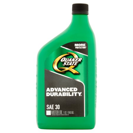 Quaker State Advanced Durability Sae 30 Motor Oil 1Qt